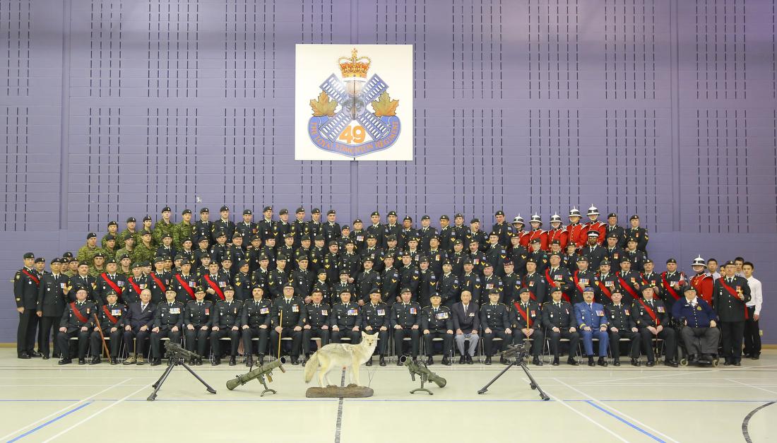 Loyal Edmonton Regiment - December 2015