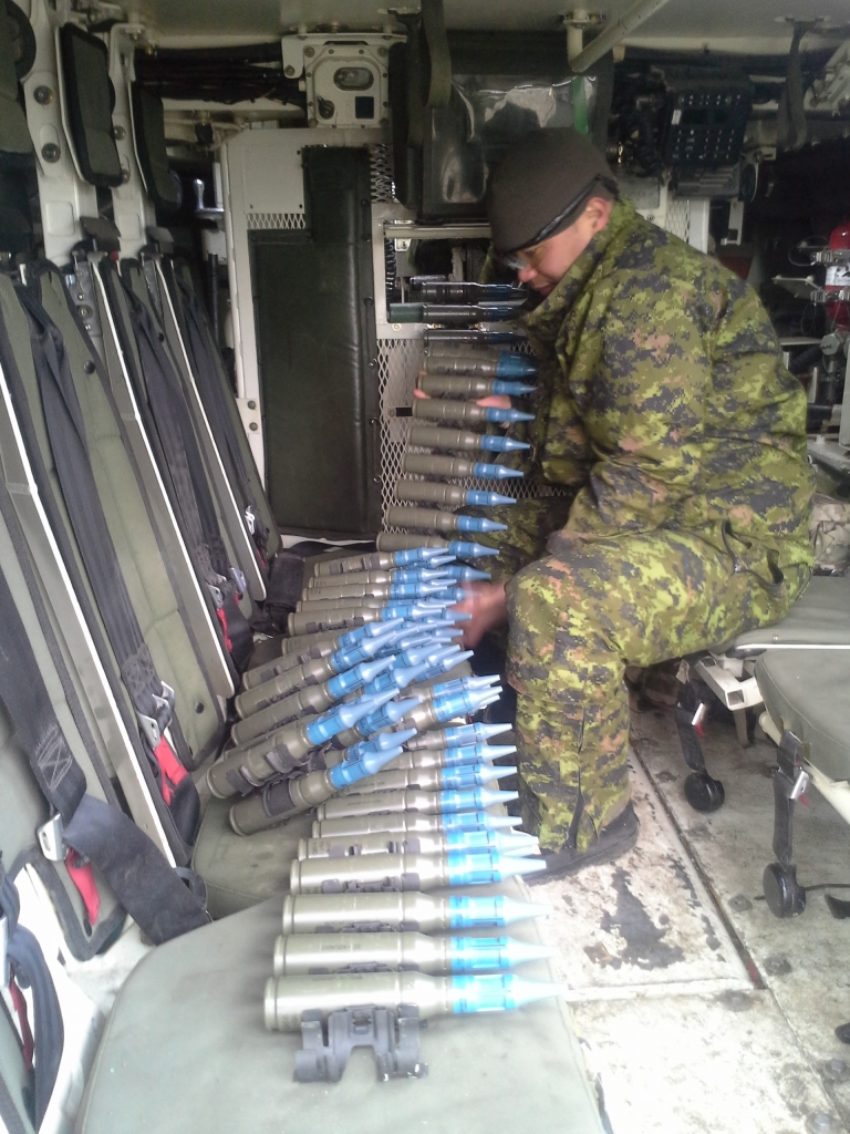 Lots of 25mm ammo