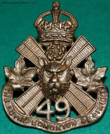 LER Cap Badge