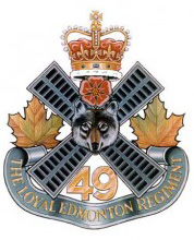 The Loyal Edmonton Regiment Logo