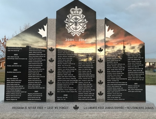 Grande Prairie Remembers Our Fallen – Oct 2017