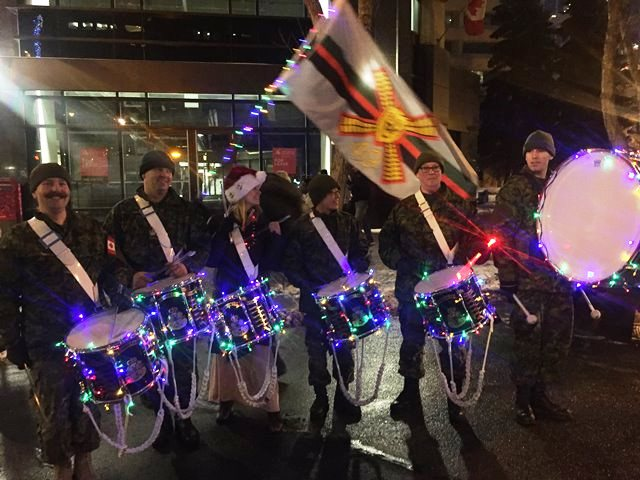 Santa's Drum Line